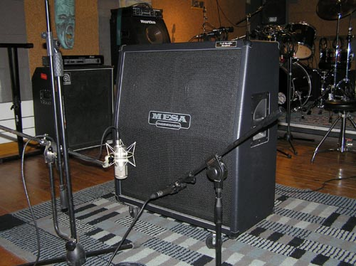 Cassa microfonata